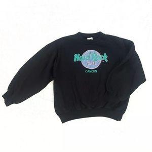 Vintage Hard Rock Cafe Cancun Crewneck Sweatshirt